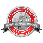 Attorney and Practice Magazine Top 10 Family Law Attorney